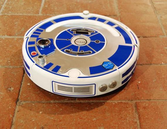 Robot Aspirateur fun