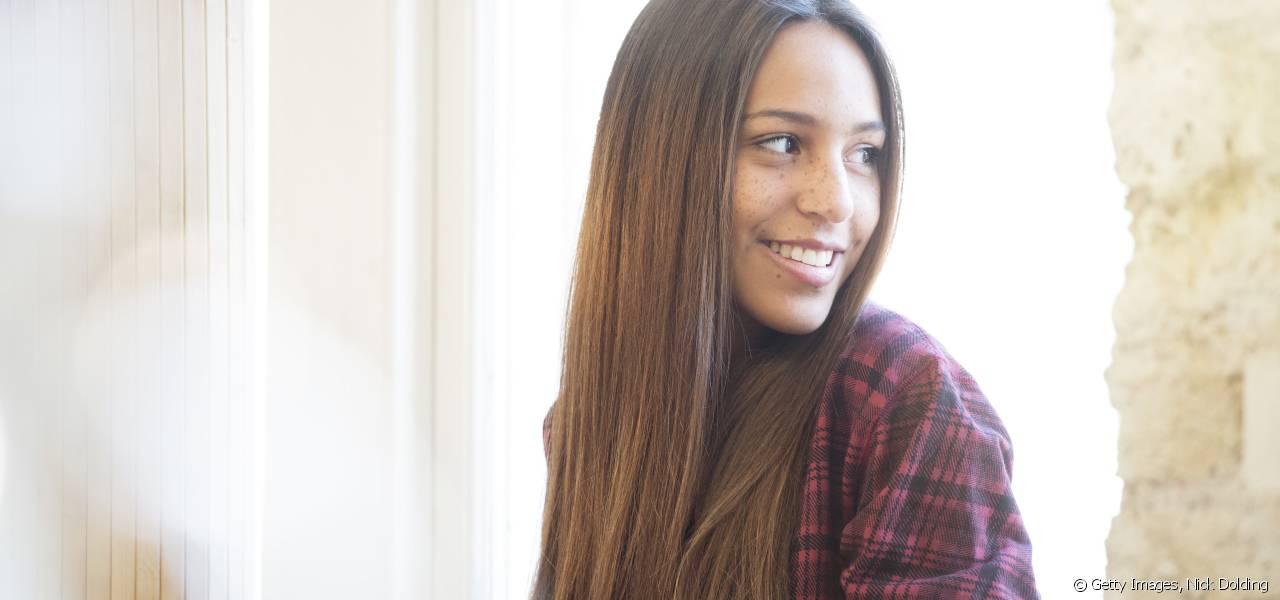 coiffure jeune femme brune
